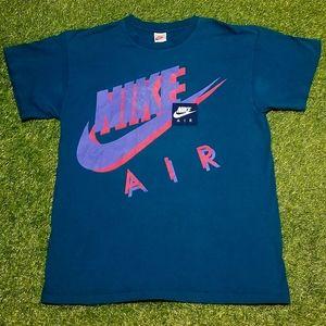Vintage 90's Nike Air Swoosh Single Stitch Tee